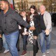 Justin Bieber et Selena Gomez passent la journée ensemble à Paris, le mercredi 9 novembre 2011.