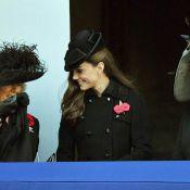 Kate Middleton chic et complice avec Camilla pour son 1er Dimanche du Souvenir