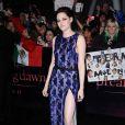 Kristen Stewart lors de la présentation de Twilight - Chapitre : Révélation 1ère partie, à Los Angeles. Le 14 novembre 2011