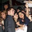 Ambiance folle lors du lancement du nouveau volet de la saga Twilight, à Los Angeles, le 14 novembre 2011.