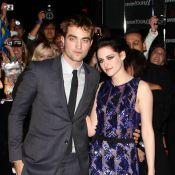 Robert Pattinson et Kristen Stewart en transparence pour un lancement événement