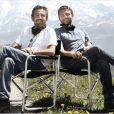 Les réalisateurs d'Intouchables, Éric Toledano et Olivier Nakache.