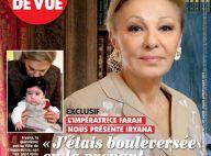 Farah Diba, impératrice d'Iran, évoque sa petite-fille, enfant de feu son fils