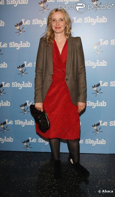 Julie Delpy, à Paris le 27 septembre 2011.