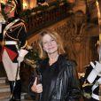 Nicole Garcia à l'Opéra Garnier, le 22 novembre 2011.