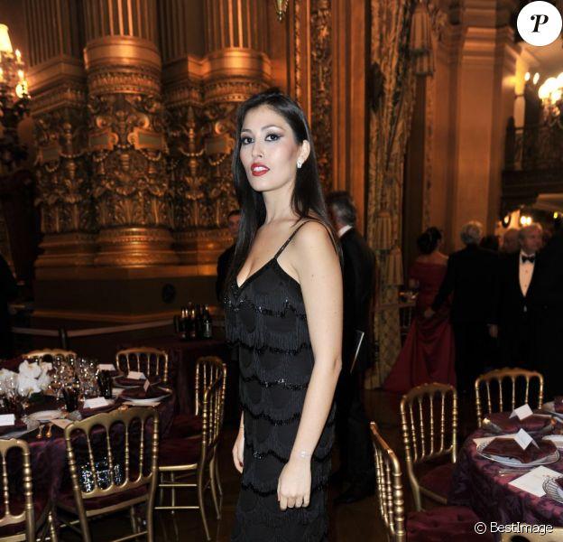Michel Legrand et Natalie Dessay à l'Opéra Garnier, pour le gala du Conseil Pasteur-Weizmann, le 22 novembre 2011.