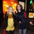 Mélanie Thierry et Zoé Félix lors de la soirée anniversaire des 135 ans de la maison Lancel à Paris le 24 novembre 2011