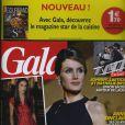 Couverture du magazine Gala en kiosques le 30 novembre 2011.