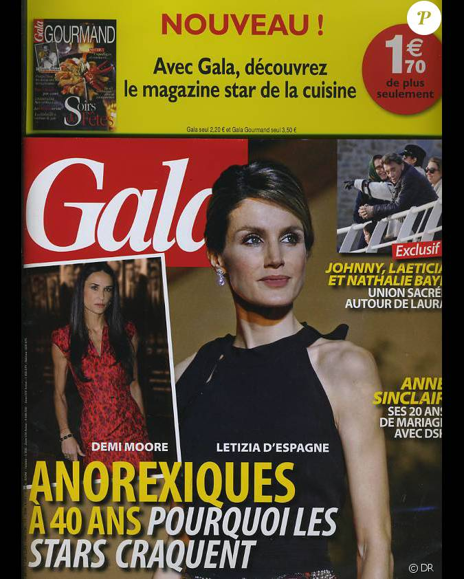 couverture du magazine gala en kiosques le 30 novembre. Black Bedroom Furniture Sets. Home Design Ideas