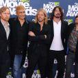 Les Foo Fighters à Los Angeles, le 5 juin 2011.
