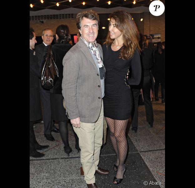 François Cluzet et sa femme Narjiss lors de la projection du film Intouchables à Berlin le 1er décembre 2011