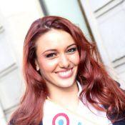 Delphine Wespiser : Sexy et souriante, Miss France 2012 dévoile ses gambettes