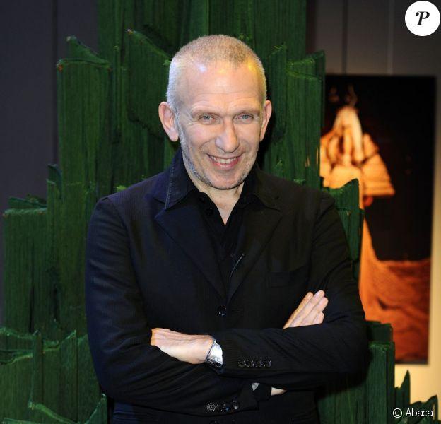 Jean-Paul Gaultier lors de l'inauguration de la 16e édition des Sapins de Noël du créateur