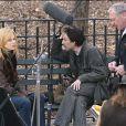 Sydney Pollack dirige Nicole Kidman et Yvan Attal sur le plateau dei'Interprete en