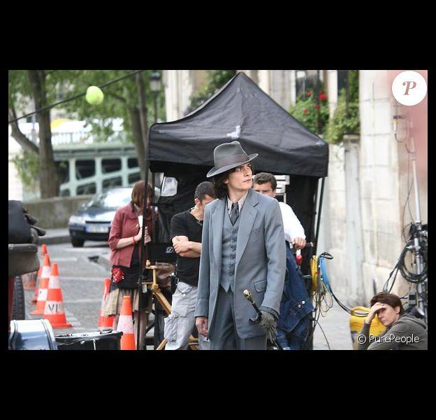 Sur le tournage de 'Chéri' de Stephen Frears...