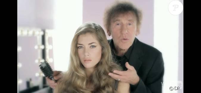 Alain Souchon su0026#39;imagine coiffeur cathodique pour la promotion de son album u00c0 cause du0026#39;elles....