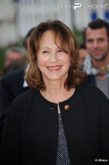 Nathalie Baye à Paris en octobre 2011