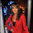 Karine Lima lors de l'élection de Miss Petite de France 2012 au Cirque de Diana Moreno, le 11 décembre 2011