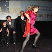 Isabelle Carré déchaînée devant Jalil Lespert, hilare et fier