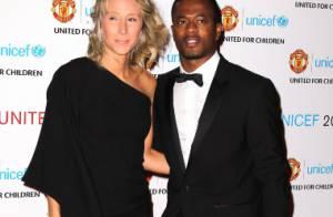 Patrice Evra et sa femme, Michael et Lisa Carrick et tout ManU très complices