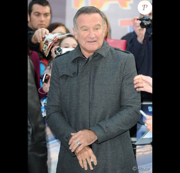 Robin Williams, le 20 novembre 2011 à Londres.