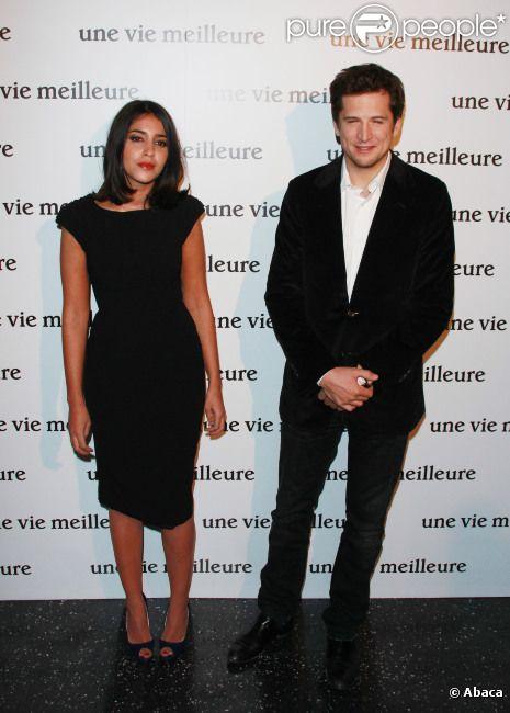 Guillaume Canet et Leila Bekhti à l'avant-première d'Une vie meilleure, à Paris le 15 décembre 2011.