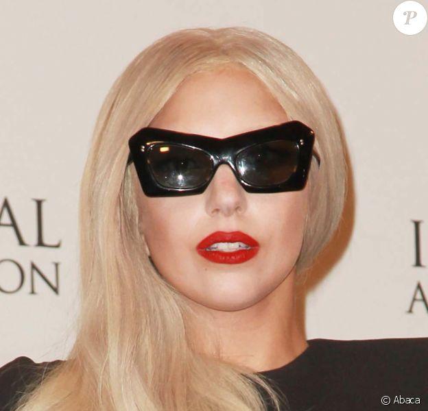 Selon le magazine Forbes, Lady Gaga a gagné 90 millions de dollars cette année. Ici photographiée à New York, le 21 novembre 2011.
