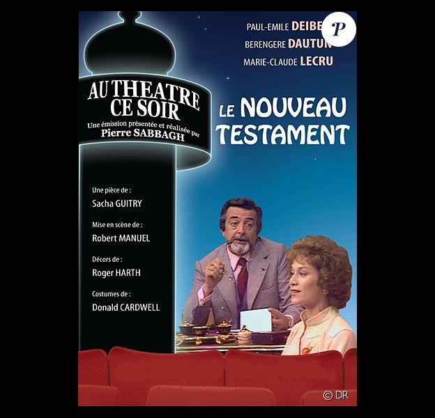 DVD de la collection Au théâtre ce soir : Le Nouveau Testament avec Paul-Emile Deiber