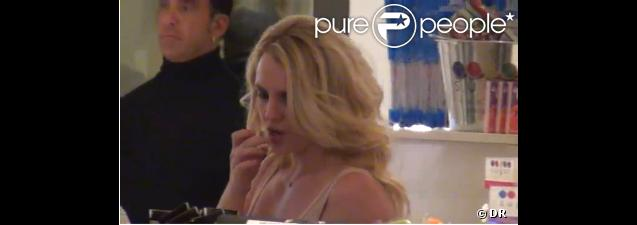 Britney Spears à la boutique Sugar Factory et au nightclub Chateau, le vendredi 16 décembre 2011.