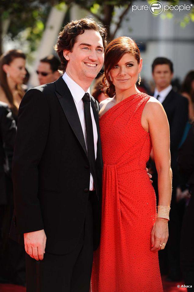 Debra Messing et Daniel Zelman à Los Angeles, le 20 septembre 2009.