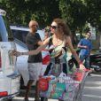Boris Becker en vacances à Miami avec sa femme Lily et leur fils Amadeus, le 21 décembre 2011