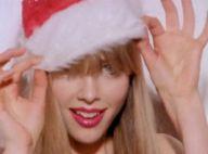Edie Campbell : En lingerie, le top devient le plus sexy des rennes du Père Noël