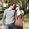Kate Bosworth et son petit ami Michael Polish : amoureux et complices à Los Angeles le 28 décembre 2011