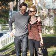 Kate Bosworth et son petit ami Michael Polish : un couple looké et craquant en promenade ensoleillée à Los Angeles le 28 décembre 2011