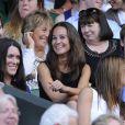 Pippa Middleton à Wimbledon le 1er juillet 2011.   En 2011, il n'y a pas que la vie de Kate Middleton qui a changé : celle de sa soeur Pippa Middleton aussi.