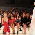 Pippa Middleton au front row du défilé Temperley lors de la fashion week londonienne, le 19 septembre 2011.   En 2011, il n'y a pas que la vie de Kate Middleton qui a changé : celle de sa soeur Pippa Middleton aussi.