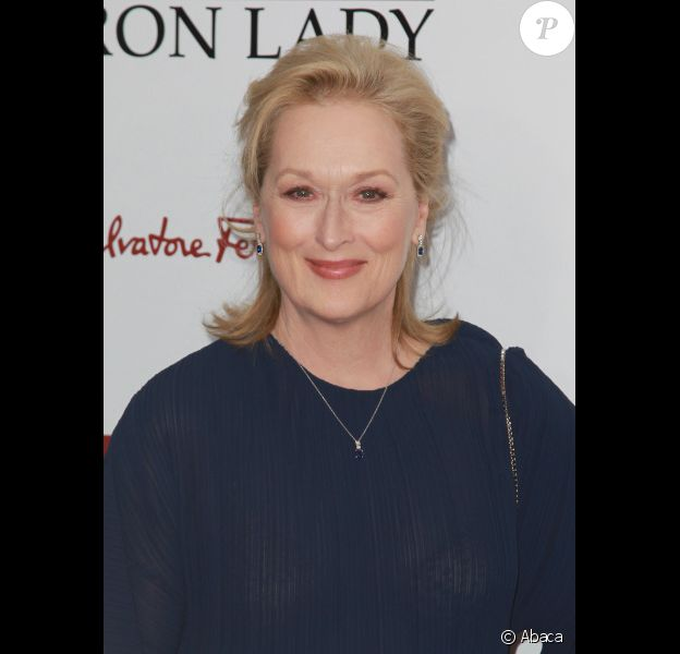 Meryl Streep le 13 décembre 2011 à New York
