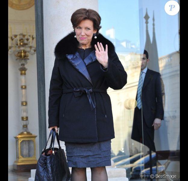 Roselyne Bachelot le 4 janvier 2012 à Paris