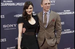 Daniel Craig et sa femme Rachel Weisz enfin réunis pour une fille tatouée