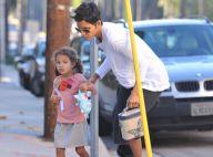 Halle Berry, encore blessée, laisse sa petite Nahla dans les bras de son père