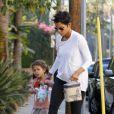 Halle Berry dépose sa petite Nahla à l'école le 6 janvier 2012 à Los Angeles