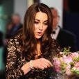 La duchesse de Cambridge, Catherine, lors de l'avant-première du film Cheval de Guerre à Londres le 8 janvier 2012