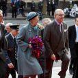 Margrethe II de Danemark et son mari le prince Henrik arrivent à Amalienborg pour la conférence de presse de  la monarque à l'occasion du jubilé de ses 40 ans de règne, le  10 janvier 2012.