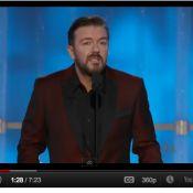 Golden Globes 2012 : Après la polémique, Ricky Gervais est-il aussi redoutable ?