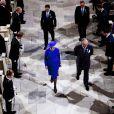 Dans le cadre du jubilé de rubis de la reine Margrethe II de Danemark, un office religieux a été célébré dimanche 15 janvier 2012 en la chapelle de Christiansborg, en présence de la famille royale et des invités étrangers.