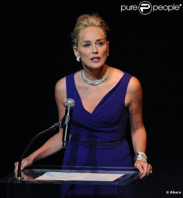 Sharon Stone le 23 septembre 2011 à Los Angeles