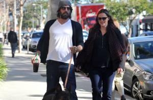 Jennifer Garner enceinte et Ben Affleck : Moment câlin et canin en amoureux