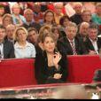 Maud Fontenoy lors de l'enregistrement de l'émission Vivement Dimanche, diffusée dimanche 29 janvier 2012 sur France 2