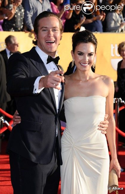 Armie Hammer couple