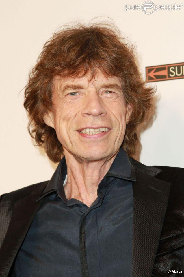 Mick jagger en septembre 2011 à new york